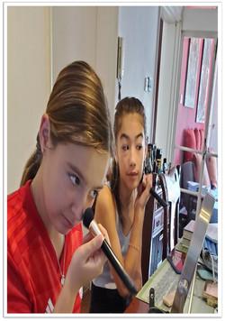 teen makeup lesson