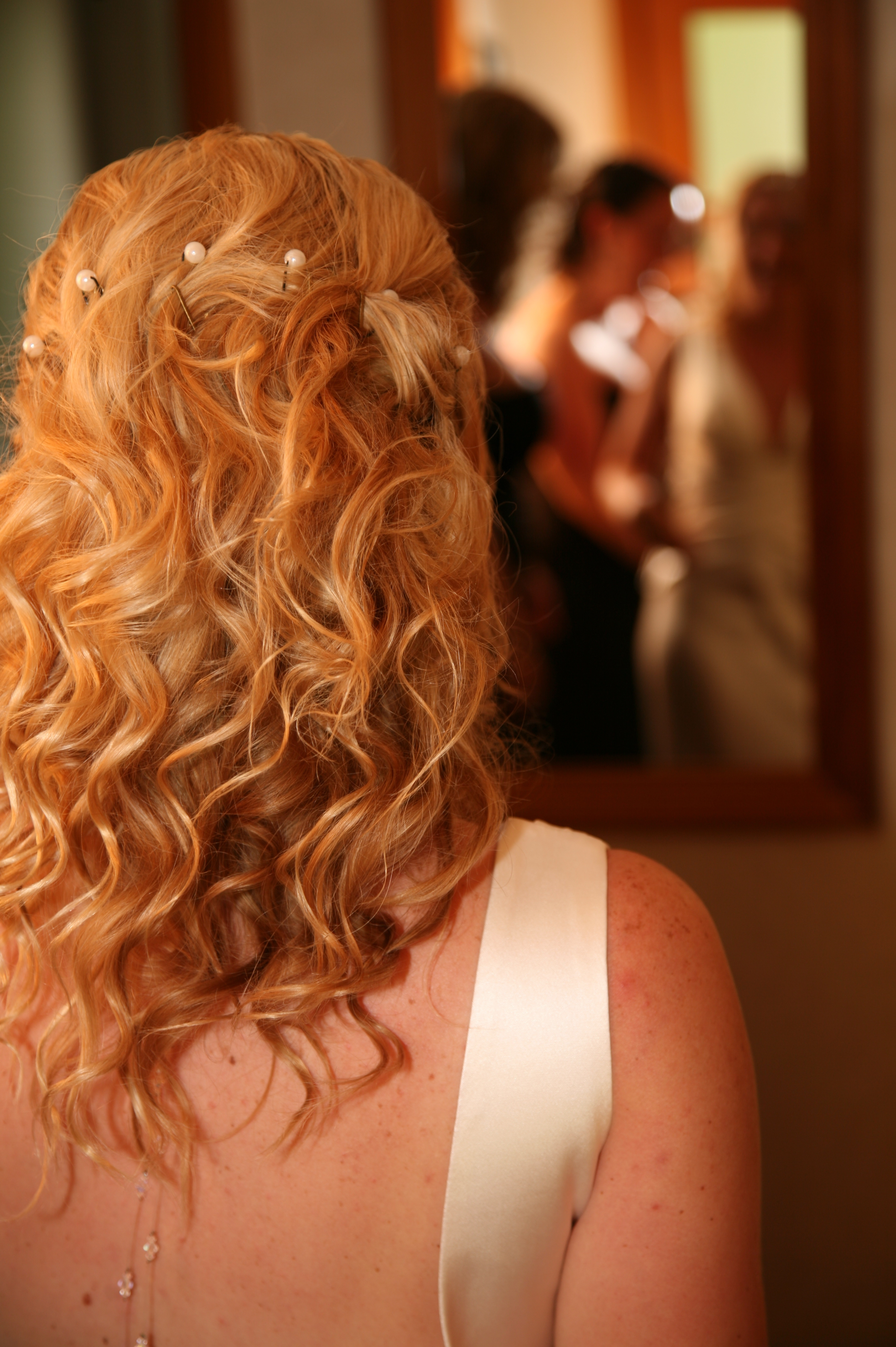 wavy hair for weddings