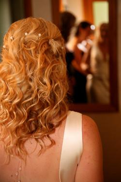 wavy hair for weddings