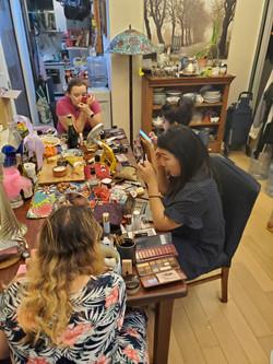 group makeup lesson