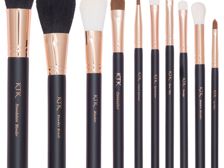 KTK Makeup Brush Line Series 1 - Breakdown