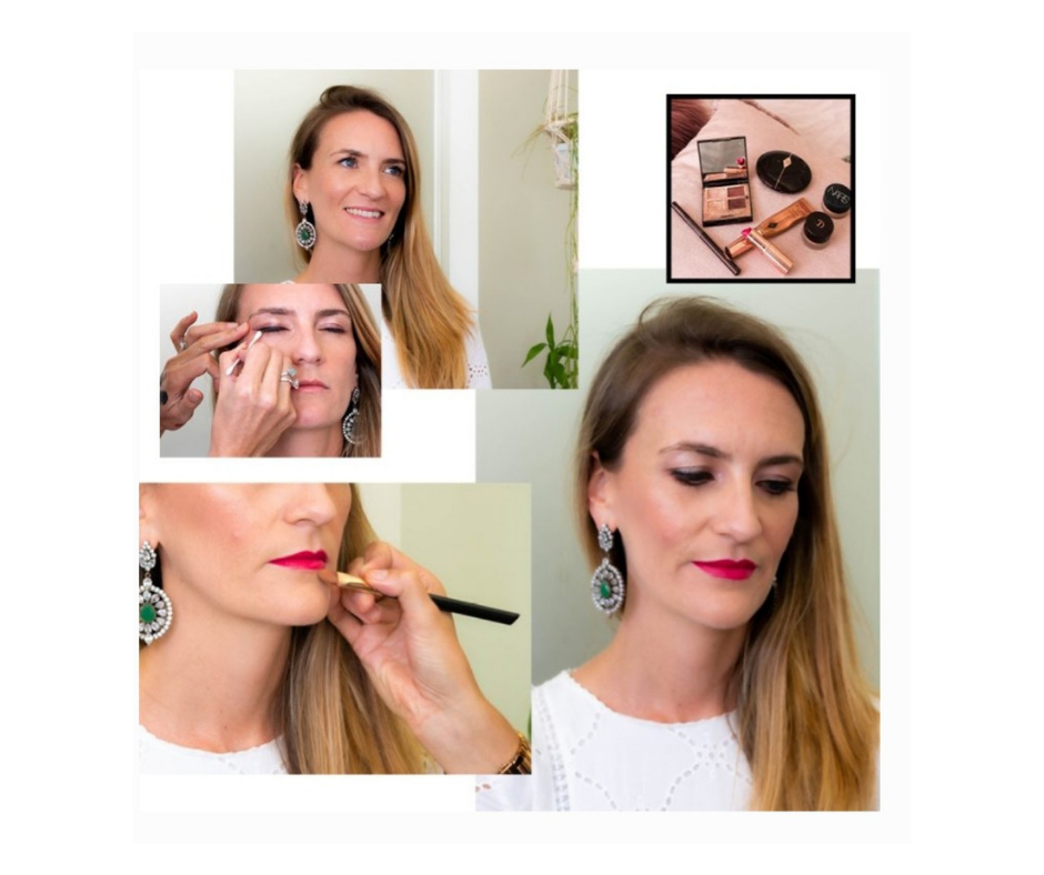 sassy magazine rose gold makeup