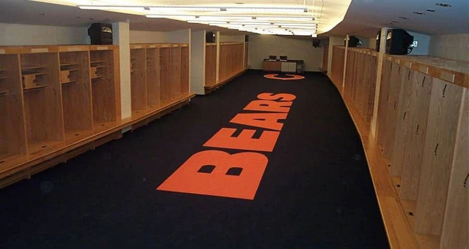 Chicago Bears Locker Room