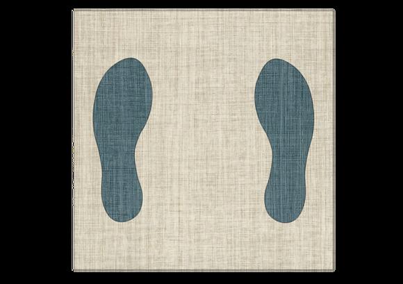 Shoe print-LVT Fabrication