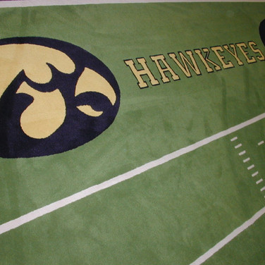 Iowa Hawkeyes Carpet