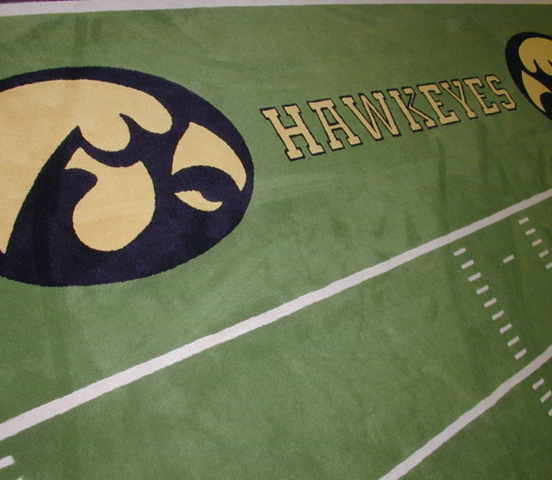 Iowa Hawkeyes Carpet