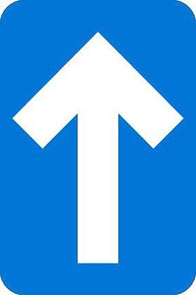 Arrow, rectangle