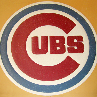 Chicago Cubs Vinyl Logo
