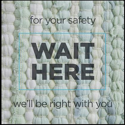 Wait Here, Textiles