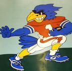 High School Mascot in Vinyl