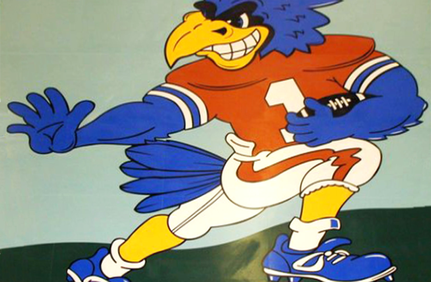 High School Mascot in Vinyl