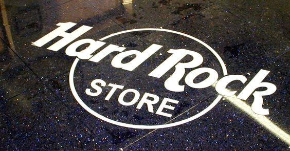 Hard Rock Store Vinyl Logo