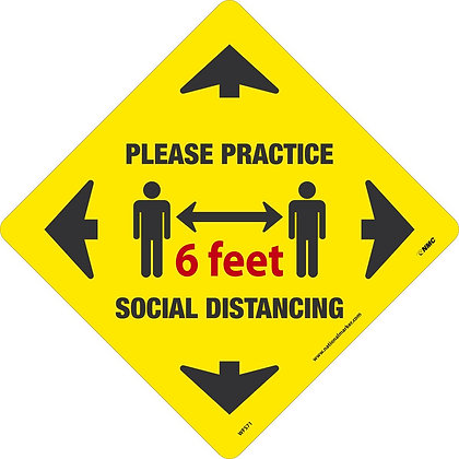 Please Practice Social Distancing