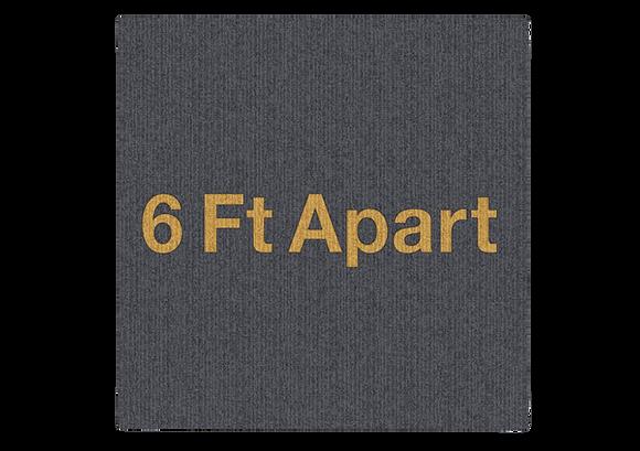 6 Ft Apart Carpet Tile Fabrication