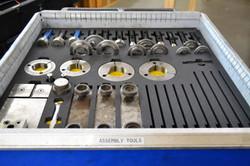Custom parts tray