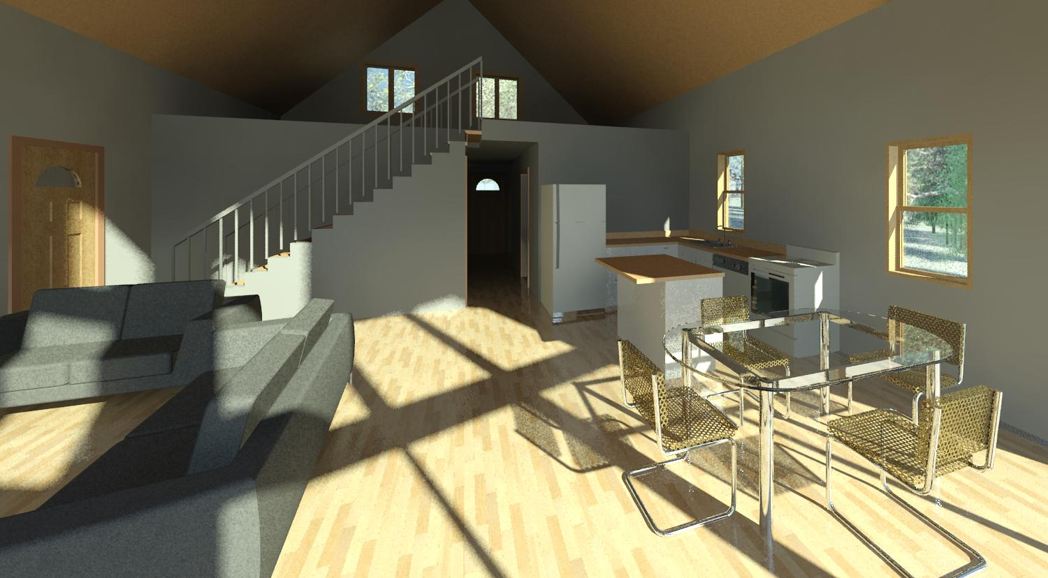 Eco House - Interior