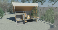 Eco House - Section