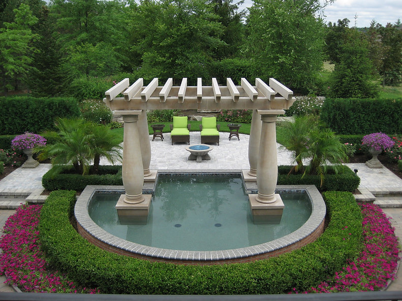Pergola Reflecting Pool