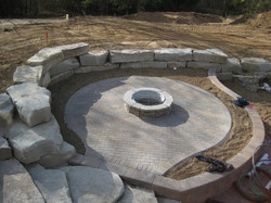 Thompson firepit Before