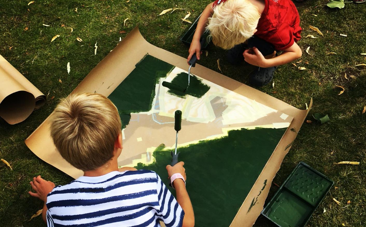 Workshop med barn - Medskapande design -