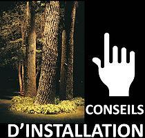 Conseil d'installation éclairage paysager