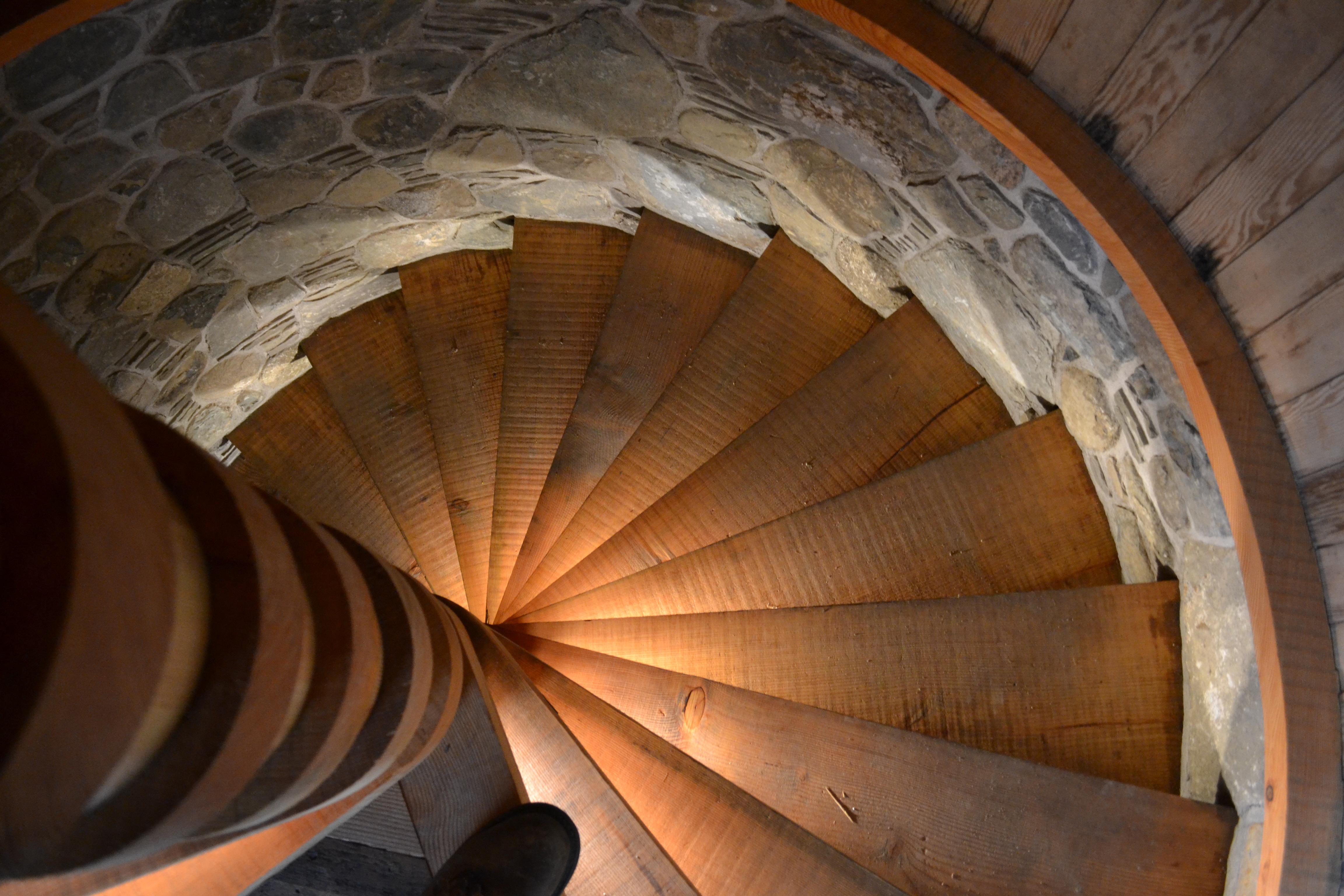 Escalier en lumière