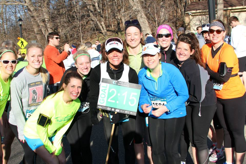 Become friends with run groups