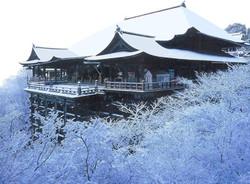 12月 清水寺の雪化粧