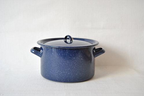 Cacerola azul recta 4 tamaños