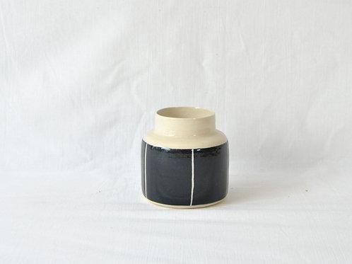 Botellón de gres blanco