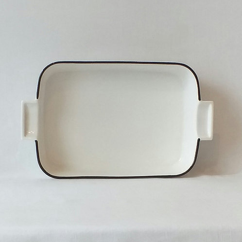 Fuente  cerámica Chaltén apta horno