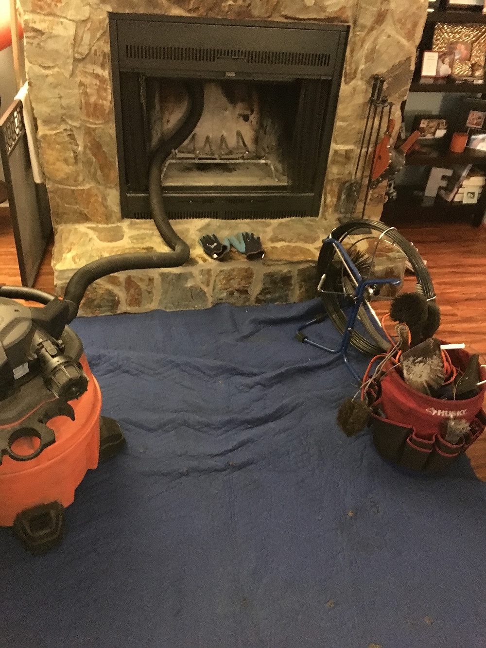 Chimney Cleaning Image