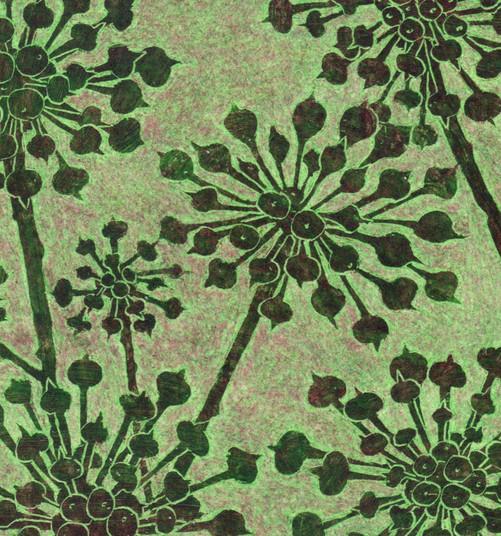 Glass Works II: ivy seedheads