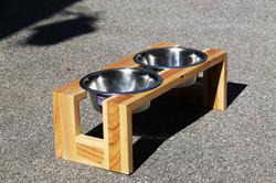 Hundefutterschalen Hartholz
