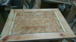 Tischplatte Zirbe