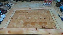 Tischplatte Zirbe 2