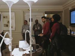 CES 2018 Venetian Tower Exhibit Suit