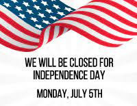 Offices Closed July 5, 2021
