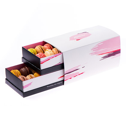 Coffret de 28 Macarons