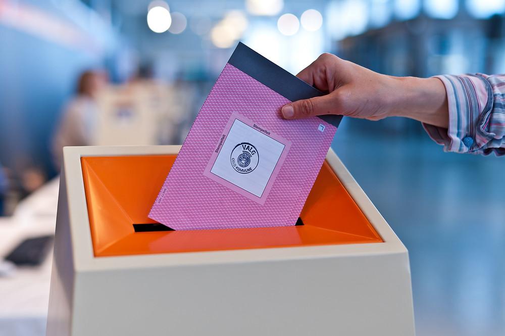 Stemmeseddel