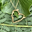 Thumbnail: Vermeil Small Vine Heart