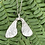 Thumbnail: Large Sycamore necklace in silver