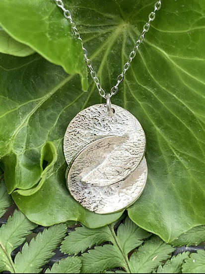 Silver harmony necklace