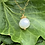 Thumbnail: Small freshwater pearl vermeil necklace