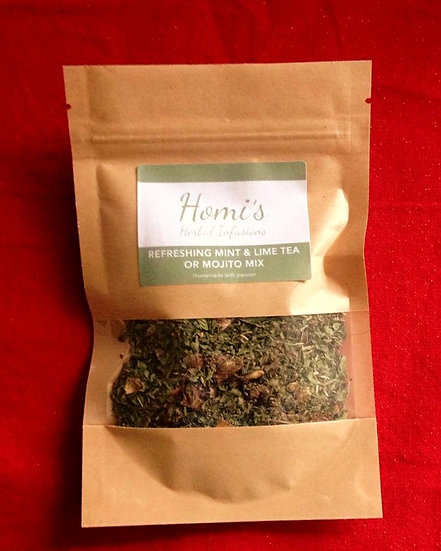 Refreshing Mint and Lime Tea / Mojito Mix