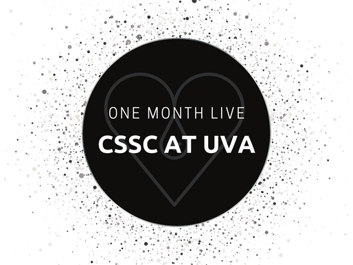 ONE Month of CSSC at UVA