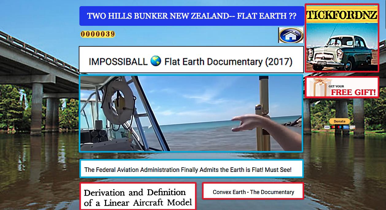 FLAT EARTH ?