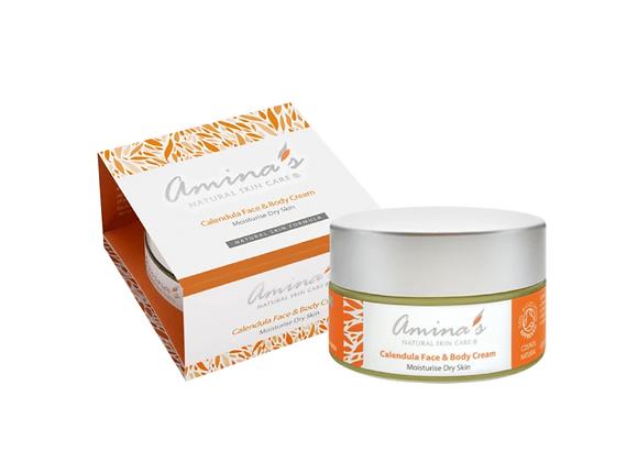 Amina's Skincare Calendula Face and Body Cream