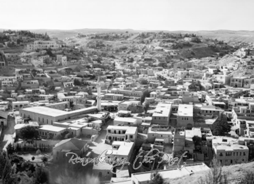 Amman view of the city cultural section showing the mosque, closer view, Septemb