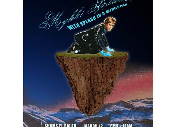 Bar Night Poster - Mykki Blanco and Splash in a Wingspan